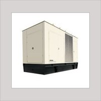DIESEL GENERATOR WITH ACOUSTIC ENCLOSURE