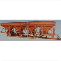 Four Bin Type Cold Feeder Unit