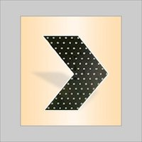 Slim Solar Chevron Sign