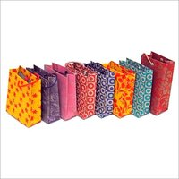 Colourful Shopping Paper Bag