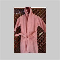 Ash Pink Children Hooded Robe