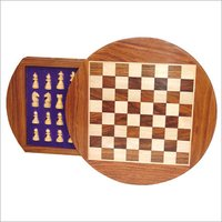 ROUND CHESS BOX