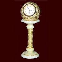Marble Piller Clock