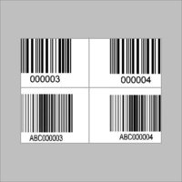 Laminated Barcode Stickers