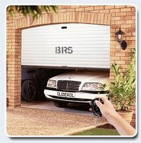 Motorised Rolling Shutter With Remote Control