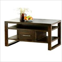 One Drawer Wooden Coffee Table