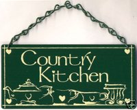 Garden Metal Sign Decor