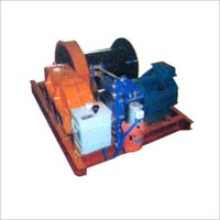 Electrically Operated Slow Speed Winch