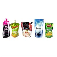 Multi Color Printed Flexible Laminated Stand up Pouch