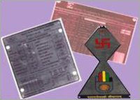 STAINLESS STEEL & BRASS LABELS PLATES