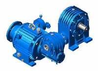 Variable Double Worm Geared Motor