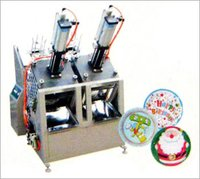 Automatic Paper Plate Machine