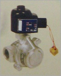TWO WAY PISTON TYPE STEAM SOLENOID VALVE