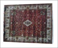 DESIGNER ANTIQUE WASH HAND KNOTTED WOOLEN CARPET