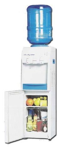 Hot & Cold Dispenser With Refrigerator