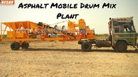 HEAVY DUTY MOBILE DRUM MIX PLANT