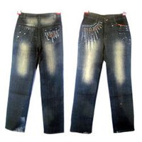 Ladies Acid Jeans