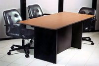 SQUARE SHAPE OFFICE MEETING TABLE