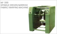 SPINDLE DRIVEN NARROW FABRIC WARPING MACHINE