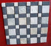 GREY COLOR MOSIAC TILE