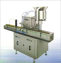 AUTOMATIC VIAL FILLING & RUBBER STOPRING MACHINE