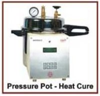 Heat Cure Pressure Pot