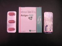 Azitromycin Tablets (Azigo-500)