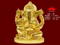 Gold Ganesha