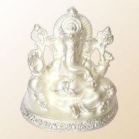 Silver Ganesha