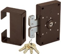 POWDER COATED ULTRA SHUTTER LOCKS