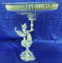 Silver Plated/Nickel Plated Fruit Stand Centre Piece