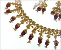 Designer Gold Necklace Set