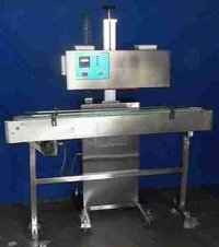 On Line Automatic Induction Cap Sealing Machine