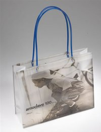 PVC Tube Handle Carrier Bag