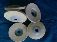 Wool Felt Disk With Plastic Cup Plate