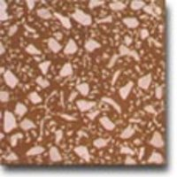 DARK BROWN TERRAZO TILES