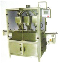 3-HEAD POWDER / GRANULE FILLING MACHINE