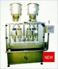 4-HEAD POWDER / GRANULE FILLING MACHINE