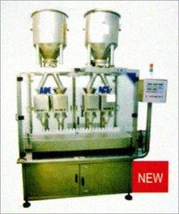 4-HEAD POWDER / GRANULE FILLING MACHINE