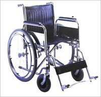 CHROMED PLATED FRAME WHEEL CHAIR