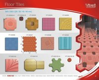 Square Shape Unipaver Tiles Moulds