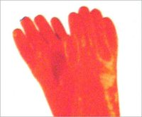 Orange Industrial Gloves