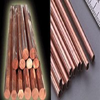 Copper Rods, Tubes
