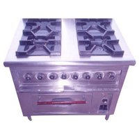 Commercial Four Burner Stove