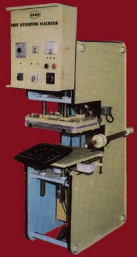 Semi Hydrolic Hot stamping Machine