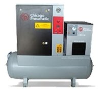 HEAVY DUTY TANK MOUNTED AIR COMPRESSOR