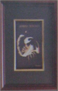 SCORPIO GOLD PHOTO FRAME