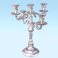 Silver Antique Candelabra