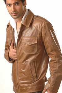 Designer Mens Leather Jacket