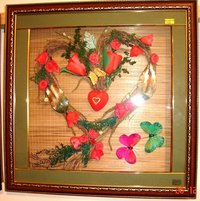 Wreath Framed